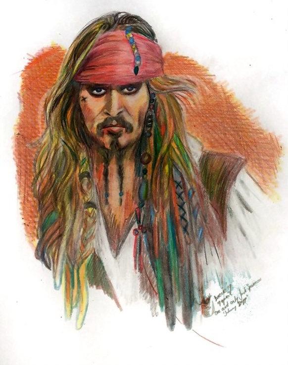 Johnny Depp por Bernie63